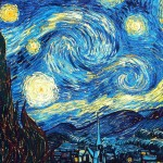 starry night vincent van gogh